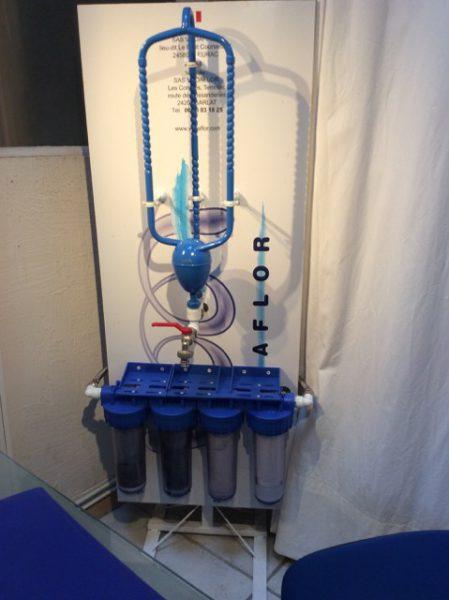 Le Voda, vortexeur d'eau va redynamiser l'eau du robinet
